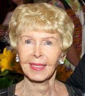 KPBS Supporter and Hall of Fame Inductee Audrey Geisel at the KPBS Celebrates Gala in 2010.