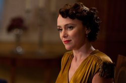 Keeley Hawes as Lady Agnes Holland.
