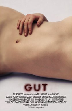 """The poster for """"Gut."""""""