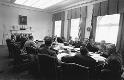 President John F. Kennedy with EXCOMM (Executive Committee of the National Se...