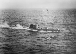 28 October 1962: The U.S. Navy shadows the second Soviet F-class submarine to...