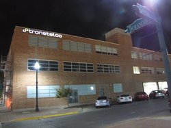 This building used to be an old garment factory. Now it houses young technology companies in downtown El Paso.