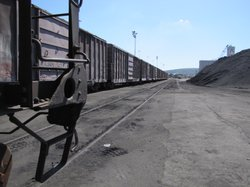Transportation of goods in Guaymas relies on freight trains and cargo ships.