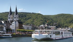 """Viking River Cruises - the Viking Freya   This auction item is part of our live auction and features a cruise from Viking River for two.  The <a href=""""http://www.vikingrivercruises.com/rivercruises/europe-moselle-paris-prague-2013/itinerary.aspx"""">City of Lights</a> cruise includes two nights in Paris and two nights in Prague plus 7 nights aboard the vessel crusing the Mosell, Rhine, and Main Rivers.  This package also includes a pre-cruise excursion to Highclere Castle - the real life <em>Downton Abbey</em>.  This offer is good for the November 15, 2013 departure and must be booked 60 days prior to sailing.  Subject to availability.  Does not include airfare to Europe."""