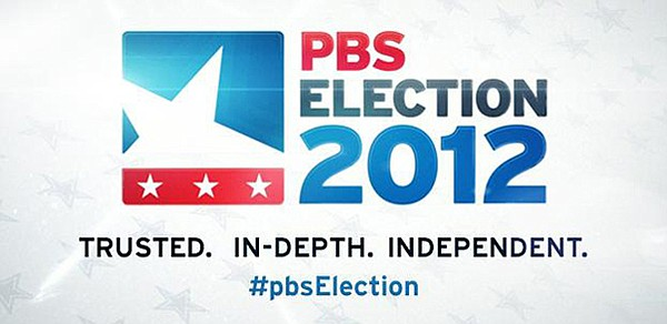 Logo for PBS' 2012 Election Coverage.