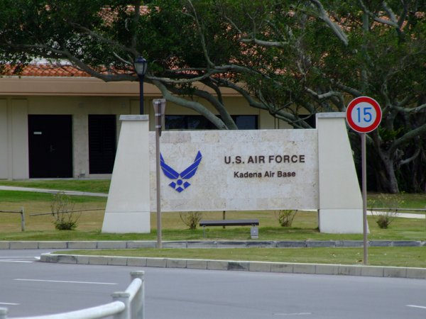 Kadena Air Base in Okinawa