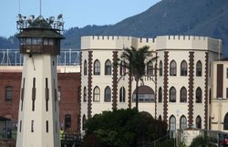 Exterior photo of San Quentin State Prison, San Quentin, Marin County, Califo...