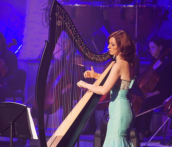 Harpist and vocalist Orla performs solo and with the other members of Celtic ...