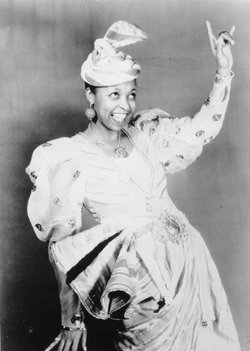 """Ethel Waters in a scene from """"As Thousands Cheer,"""" 1933."""