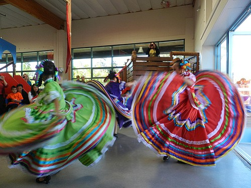 Las Flores of Academy of World Dance 'n' Arts dancers per...