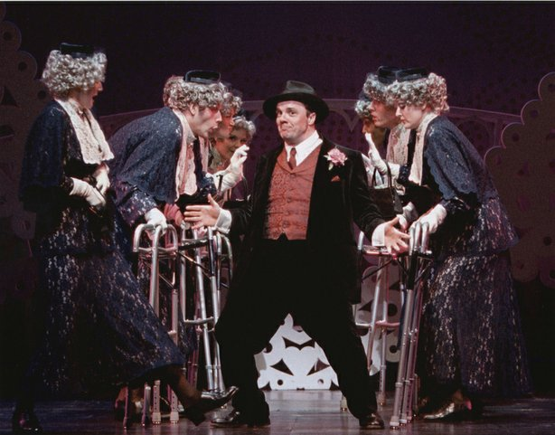 "Nathan Lane as Max Bialystock in ""The Producers,"" 2001."