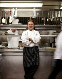 Chef Bernard Guillas.