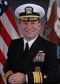 Navy Rear Adm. Kenneth E. Floyd