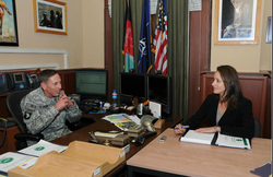 General David Petraeus and Paula Broadwell