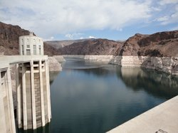 The U.S. stores emergency water for Mexico at Lake Mead, the reservoir behind...