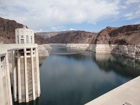 The U.S. stores emergency water for Mexico at Lake Mead, ...