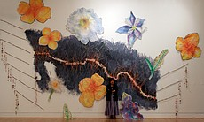 """Undocumented Border Flowers,"" by Consuelo Jimenez Underwood, 2010."