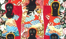 """Mother's Quilt"" ©Faith Ringgold, 1983."