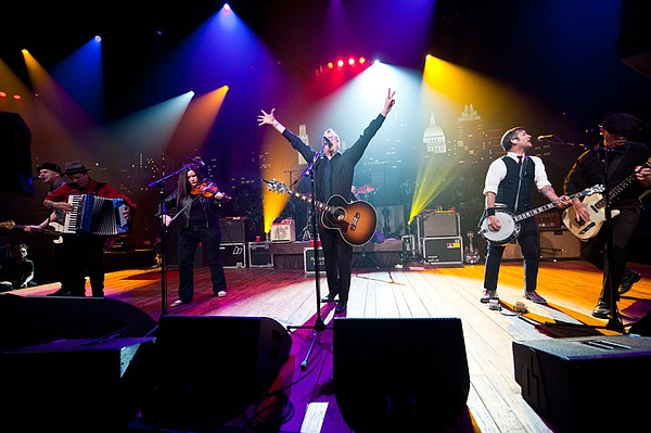 Contemporary folk rockers Flogging Molly take the stage with highlights from ...