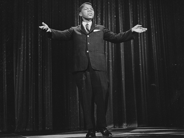 "The legendary Frankie Lymon performs the classic ""Goody Goody"" in"