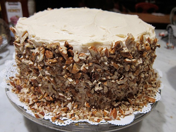 Elle Green's Sweet Potato Cake as featured in