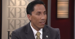 City Councilman Todd Gloria talks to KPBS in November 2012.