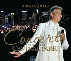 "Give at the $75 level during our TV membership campaign and receive an ""Andrea Bocelli: Concerto: One Night in Central Park"" CD. This gift also includes enrollment in the myKPBS Savers Club which features a directory of best-in-class offers from Entertainment Publications and a KPBS License Plate Frame (if you're a new member). The DVD is available at the $100 level, and a combo package is available at the $150 level."