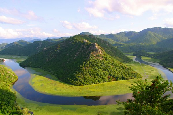 Lake Skadar is the largest lake at Balkan Peninsula, famo...