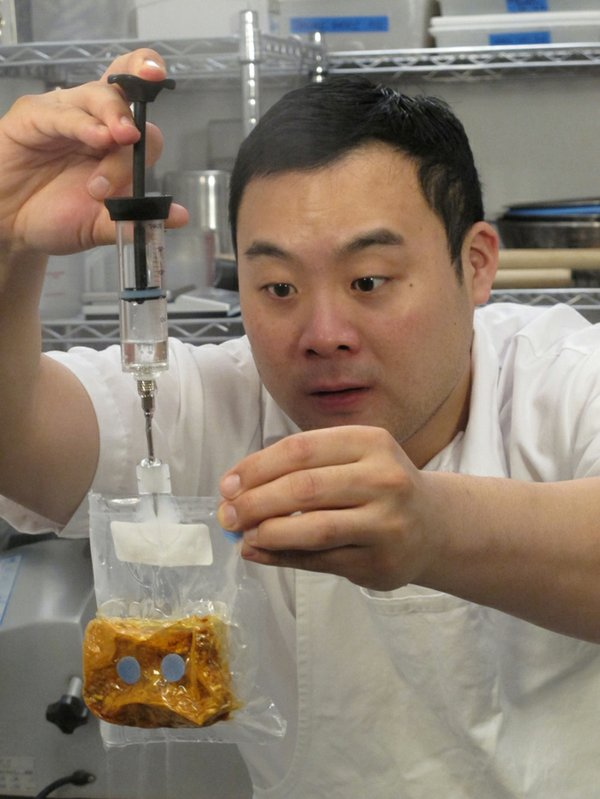 Korean-American chef David Chang (pictured), a New York Times best-selling au...