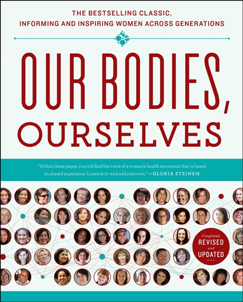 "Graphic cover of ""Our Bodies, Ourselves"" 2011 Edition"