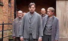 "Brendan Coyle as John Bates (center) in MASTERPIECE CLASSIC ""Downton Abbey"" S..."