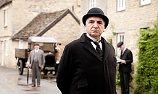 "Jim Carter as Mr. Carson in MASTERPIECE CLASSIC ""Downton Abbey"" Season 3."