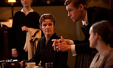 Siobhan Finneran as Miss O'Brien and Matt Milne as Alfred in MASTERPIECE CLAS...