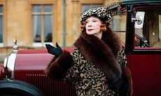 "Shirley MacLaine as Martha Levinson in MASTERPIECE CLASSIC ""Downton Abbey"" Season 3."