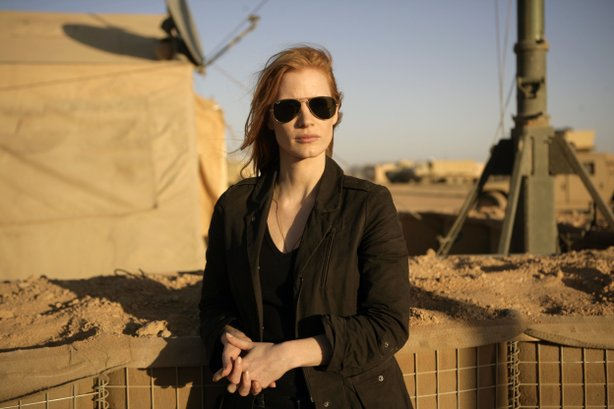 "Jessica Chastain as the agent at the center of the hunt for Osama Bin Laden in ""Zero Dark Thirty."""