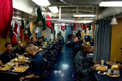 USS Benfold crew on December 6.