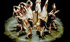 A scene from the Joffrey Ballet's revival of Va...