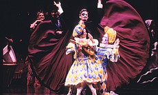 "A scene from the Joffrey Ballet's ""The Nutcracker"" production."