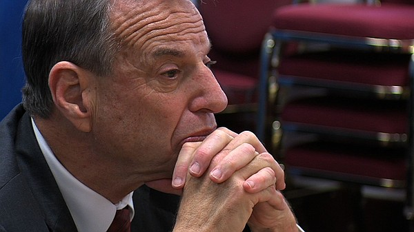 Mayor Bob Filner meeting with City Officials to discuss school safety.