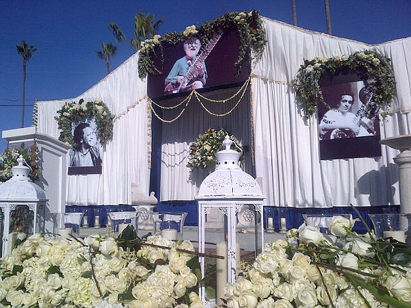 A public memorial service in Encinitas for Ravi Shankar, the Indian sitar vir...