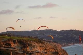 Gliders at Torrey Pines.