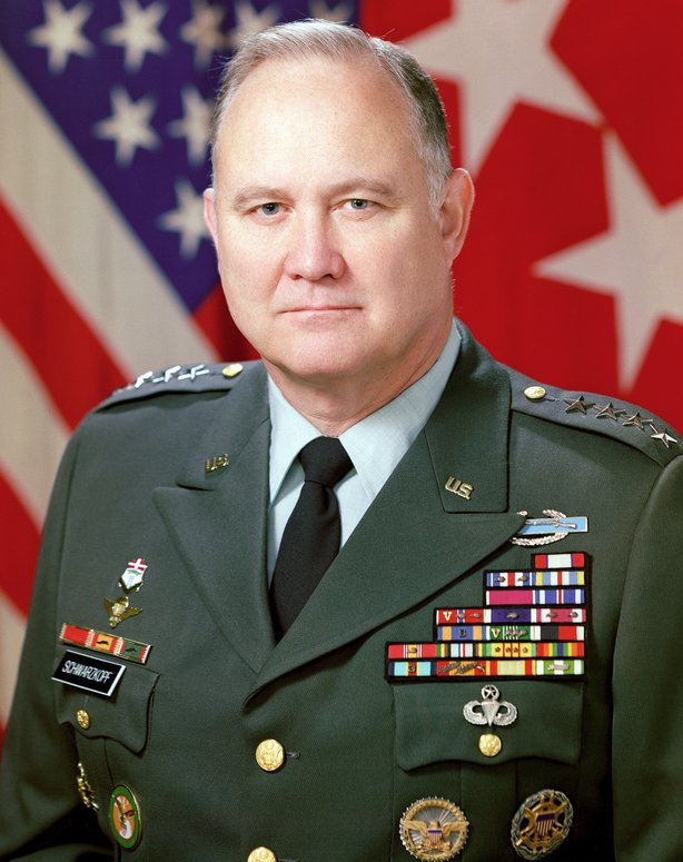 Retired Gen. Norman Schwarzkopf