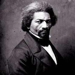 Portrait of Frederick Douglass, circa 1860.