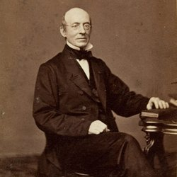 Portrait of William Lloyd Garrison, circa 1861.
