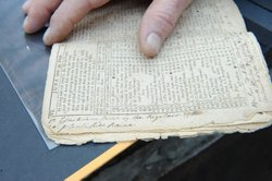 The notes scribbled in the margins of this 1775 Almanac take us inside the li...