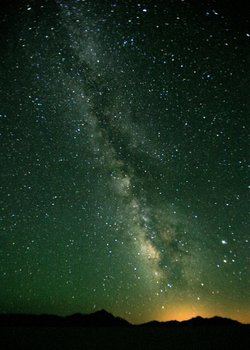 A view of the Milky Way from Black Rock Desert, Nevada.