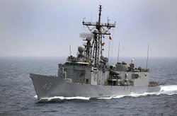 USS Thach in the Persian Gulf in 2003.