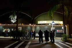 Exterior photo of the Belly Up, located at 143 S. Cedros Avenue, Solana Beach, Calif., 92075.