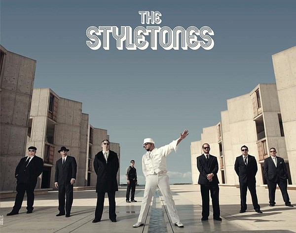 Graphic image of The Styletones new album, released January 27, 2012.
