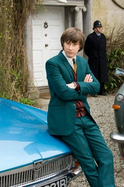 Sergeant John Bacchus from INSPECTOR GEORGE GENTLY, played by actor Lee Ingleby.